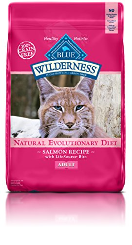 BLUE Buffalo Wilderness Salmon Recipe For Adult Cats (Dry)