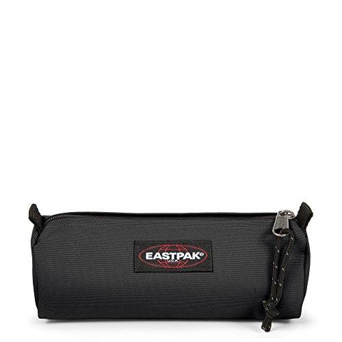 Eastpak EK372008 Benchmark 6 Rep Trousse, Mixte, 20 cm, Noir