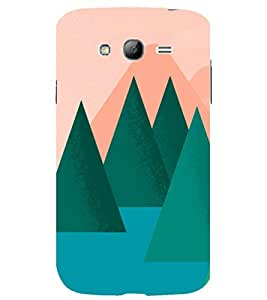 printtech Nature Animated Tree Back Case Cover for Samsung Galaxy Grand Neo Plus / Samsung Galaxy Grand Neo Plus i9060i