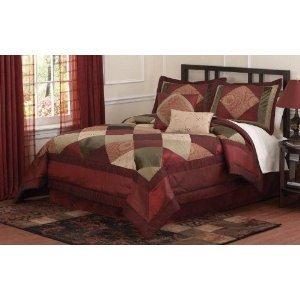 Berry Luxe Queen Comforter Set with 4 Bonus Pieces