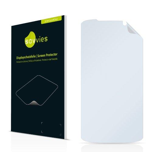 Savvies SC50 CrystalClear Displayschutzfolie passend für LG Electronics P930 Nitro HD