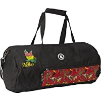Flow Society Authentic Lacrosse Gear Duffle Bag Black Red Rasta Monkey Banana Onesize