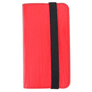 HEX x HUNDREDS CODE Wallet for iPhone 4/4S - Red - 1 Pack - Retail Packaging (HX1128 - REDD HEX)