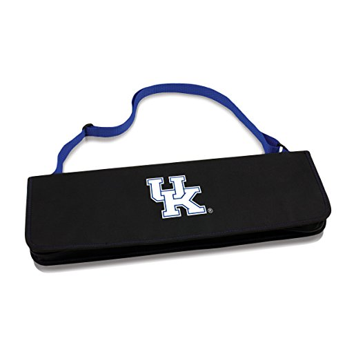 NCAA Kentucky Wildcats Metro 3-Piece BBQ Tool Set in Carry Case (Bbq Accessories Wildcat compare prices)