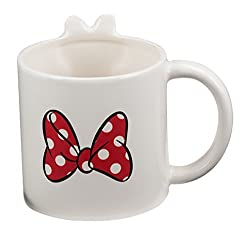 Vandor 89101 Disney Minnie Mouse 20 Ounce 3D Ceramic Mug