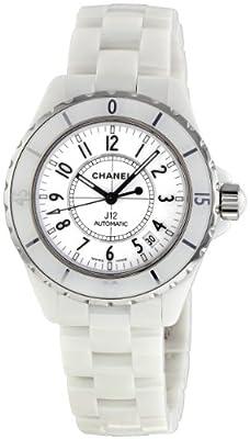Chanel Women's H0970 J12 White Ceramic Bracelet Watch