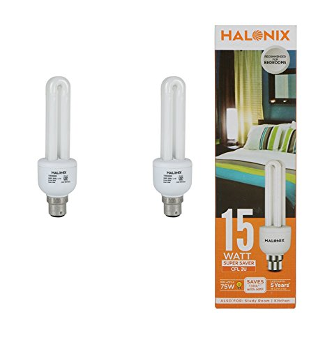 Halonix 15 W CFL 2U Bulb (Pack of 2) Image