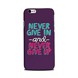 iPhone 6 / iPhone 6s Designer Printed Back Cover (iPhone 6 / iPhone 6s Back Cover) - Never Giveup