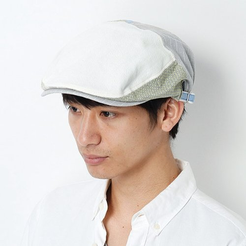 グレース(Grace) 【アウトレット】【大きいサイズ】帽子(ハンチング)【アイボリー/XL】