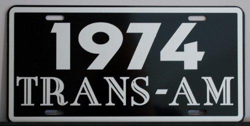 1974 74 Pontiac Trans-am License Plate Trans Am (1974 Pontiac Trans Am compare prices)