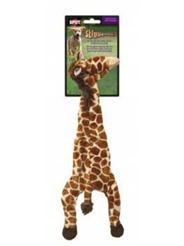Ethical 5707 Skinneeez Giraffe Stuffing-Less Dog Toy, 20-Inch