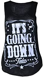 Womens Sleeveless Its Going Down Vest Top (MTC)