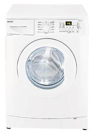 Beko WML 51231 E  Waschmaschine / Frontlader / A+/ 1200 UpM / 5 kg / 0.688 kWh / 33 Liter / Display mit Startzeitvorwahl und Restzeitanzeige / Großes Programmauswahl / weiß