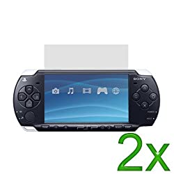 Gt Max 2x Clear Lcd Screen Protector For Sony Psp