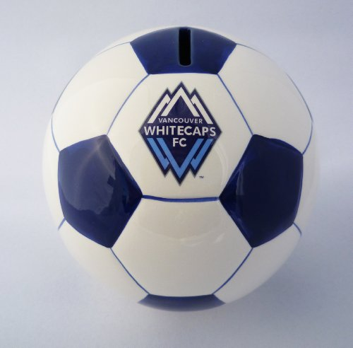Vancouver Whitecaps Ceramic Coin Bank