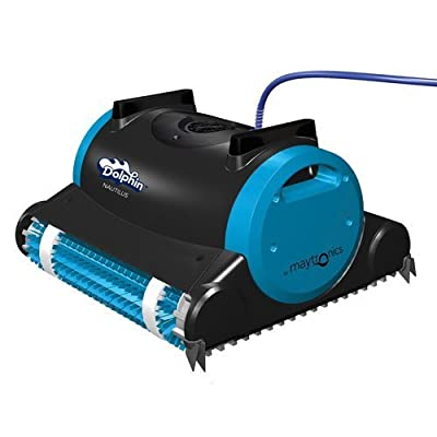 Dolphin 99996323 Dolphin Nautilus Robotic Pool Cleaner with Swivel Cable, 60-Feet