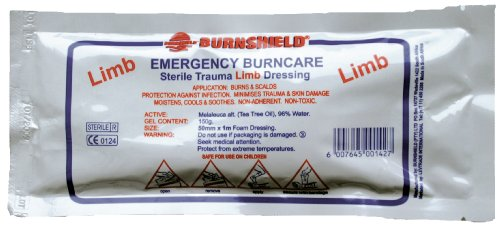 Burnshield Strip Finger Burn Dressing 2.5 X 50cm (sterile And Individually Wrapped)