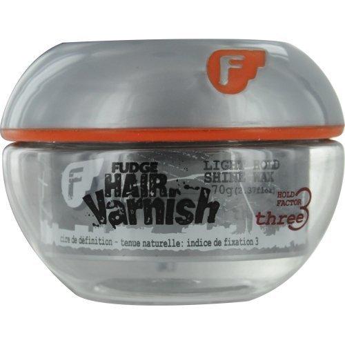 Fudge Hair Varnish Shine Wax 2.37 Ounce by Fudge