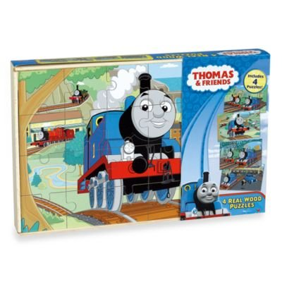 Thomas & Friends 4-pack Wooden Puzzles - 1