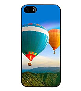 printtech Hot Air Balloon Colored Back Case Cover for Apple iPhone 5C