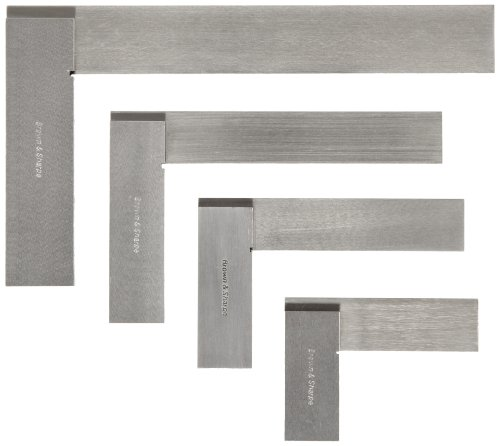Brown & Sharpe 599-540-2346 4 Piece Workshop Square Set