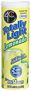 4C Totally Light Lemonade, Sugar Free, 7-Count Canisters (Pack of 4)