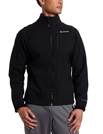 Columbia Men's Ascender II Softshell Jacket, Black, Small