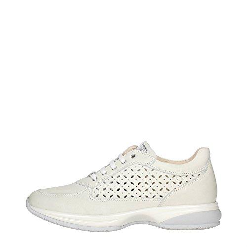 Liu Jo Girl B21259 Sneakers Donna Pelle Bianco Bianco 40