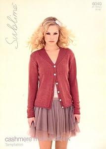 Dk Ladies Jacket Knitting Pattern : Sublime Cashmere Merino Silk DK Ladies Cardigan Knitting ...