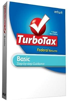 TurboTax Basic Federal + efile 2009