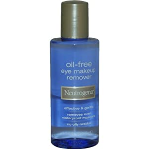 Neutrogena Eye Makeup Remover, Oil-Free, 5.5 oz.