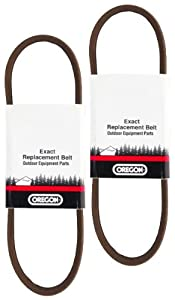 Oregon (2 Pack) 75-096 1/2-by-36-1/2-inch Replacement Belt for Ariens Snow Thrower 72108