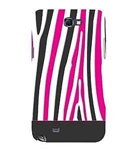 Zebra Art Fashion 3D Hard Polycarbonate Designer Back Case Cover for Samsung Galaxy Note 2 :: Samsung Galaxy Note 2 N7100