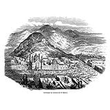 Grabado antiguo (1858) - Xilografía - Méjico.- Santuario De Guadalupe (13x18), Rico
