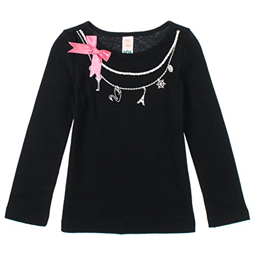 Penny Candy Little Girls Long Sleeve Graphic Tee