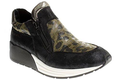 Replay, Sneaker donna Multicolore nero