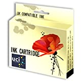 UCI Compatible Ink Cartridge Replace Lexmark NO.100XL - 1Black For Lexmark Printer ( Non-Original )