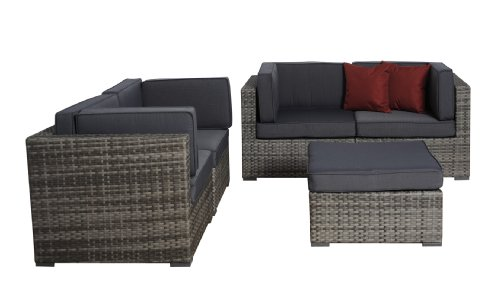 Sensational Atlantic Pli Nice Gr Gr Nice Wicker Seating Set With Unemploymentrelief Wooden Chair Designs For Living Room Unemploymentrelieforg
