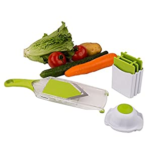 Anybest® Good Grips Hand-Held Mandoline Slicer Adjust-A-Slice and Julienne Mandoline