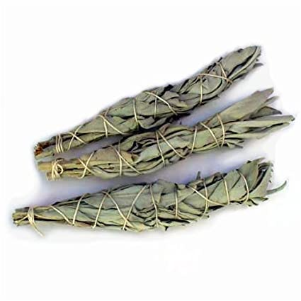 SKCaliSage White Sage Mini Smudging Stick - 3Pack (4