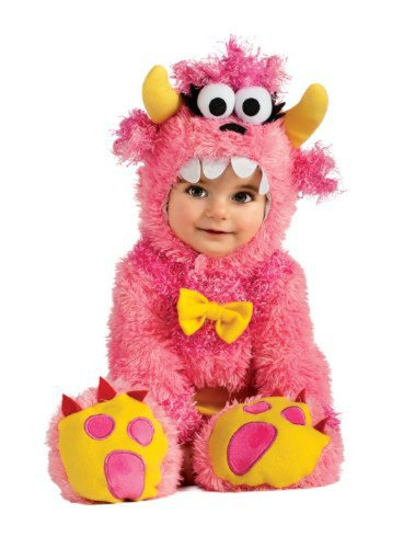 Noah's Ark Pinky Winky Monster Romper Costume WB (6-12 months with Bracelet for Mom) (Pinky Winky)