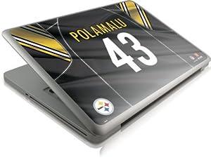 NFL - Pittsburgh Steelers - Troy Polamalu - Pittsburgh Steelers - Apple MacBook Pro 13 - Skinit Skin from SteelerMania