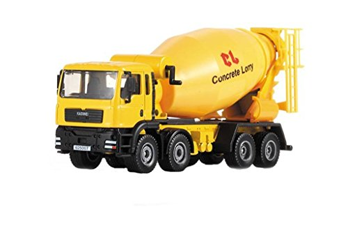mini-butterball-150-alloy-die-cast-engineering-concrete-mixer-truck-model-toy-vehicle-car-simulation