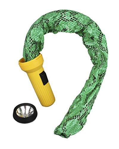 Prank Star Snake Flashlight, Yellow