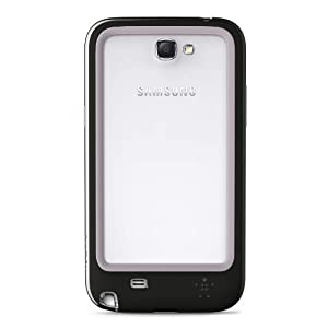 Belkin Surround Case/Cover for Samsung Galaxy Note II - F8M509ttC00 - Black/Gray