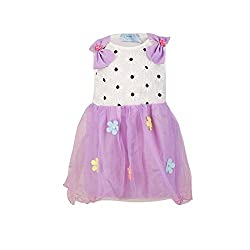 Pikaboo Bow Shouldered Dress - Purple