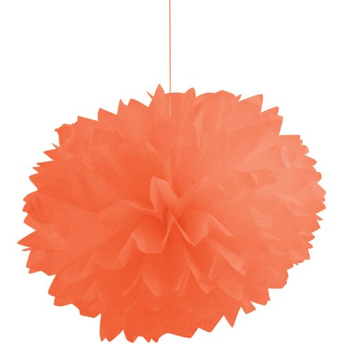 Sunkissed Orange Fluffy Tissue Balls (3ct)