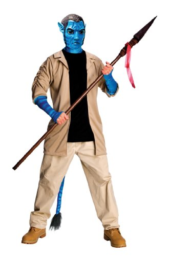 Avatar Adult Deluxe Jake Sully Costume And Mask