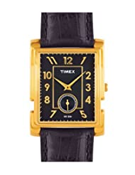 Timex Analogue Brown Dial Men's Watch - NL15