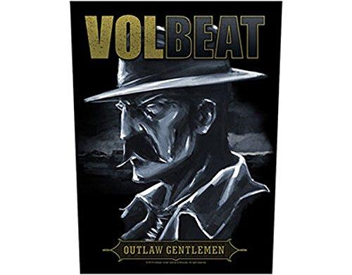 Volbeat-Outlaw Gentlemen-Toppa/Back patch-Spedizione gratuita